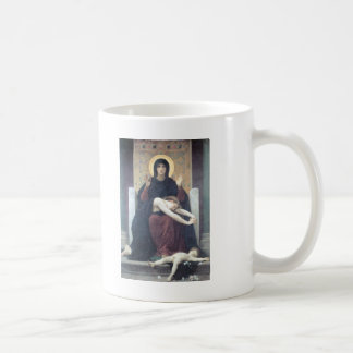 Bouguereau - Vierge Consolatrice コーヒーマグカップ