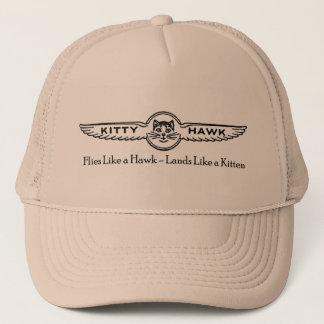 Bourdonのキティホークのトラック運転手の帽子 キャップ