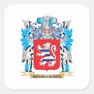 Bourguignonの紋章付き外衣 スクエアシール