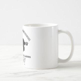 bouvier desのflandres犬のお父さん コーヒーマグカップ