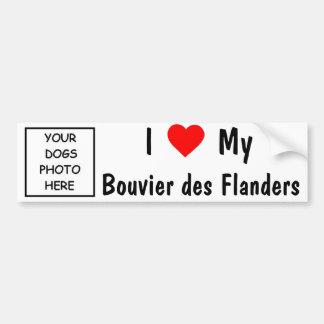 Bouvier desフランダース バンパーステッカー