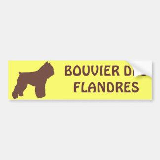 Bouvier des Flandres バンパーステッカー