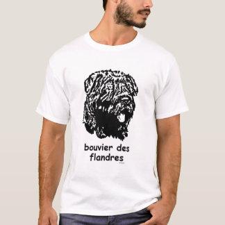 Bouvier des Flandres Tシャツ