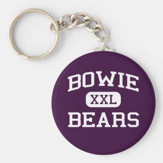 Bowie -くま- Bowieの高等学校-エルパソテキサス州 キーホルダー