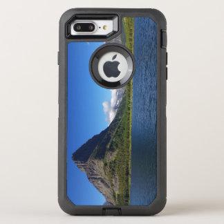 bowman湖-グレーシャー国立公園モンタナ オッターボックスディフェンダーiPhone 8 plus/7 plusケース