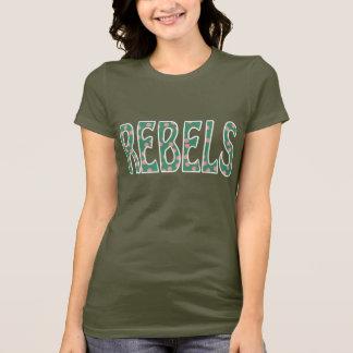 Bowsherの高等学校はトレドオハイオ州反逆します Tシャツ