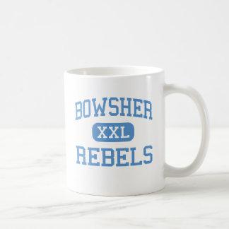 Bowsher -反逆者-高等学校-トレドオハイオ州 コーヒーマグカップ