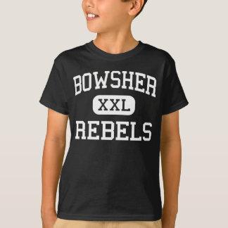Bowsher -反逆者-高等学校-トレドオハイオ州 tシャツ