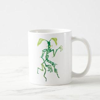 Bowtruckleのタイポグラフィのグラフィック コーヒーマグカップ