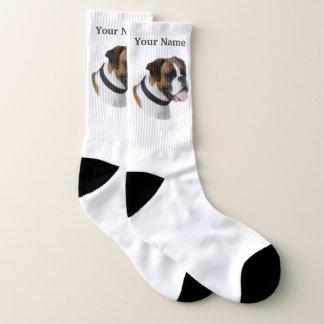 Boxer dog ソックス