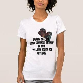 boxingglovesは、TheObamaの政治マッハを…打ちます Tシャツ
