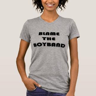 Boybandの責任にして下さい Tシャツ