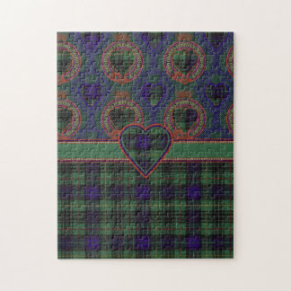 Boydの一族の格子縞のスコットランドのキルトのタータンチェック ジグソーパズル