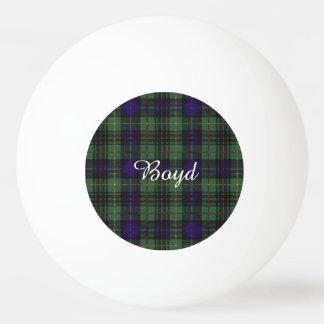 Boydの一族の格子縞のスコットランドのキルトのタータンチェック 卓球ボール