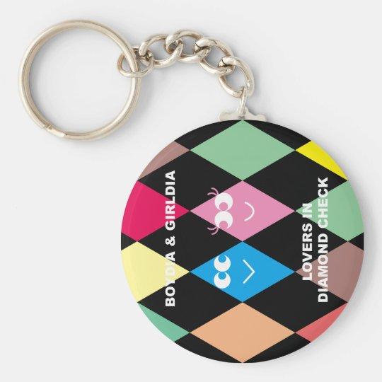 BOYDIA & GIRLDIA Keychain キーホルダー