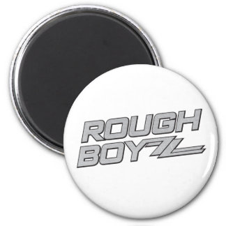 BoyZzの荒いステンレス製の磁石 マグネット