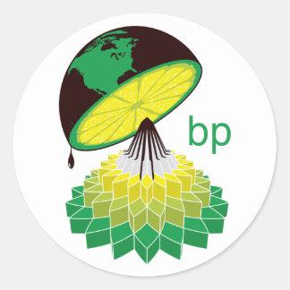 BPのロゴのバージョン2 (ステッカー) ラウンドシール