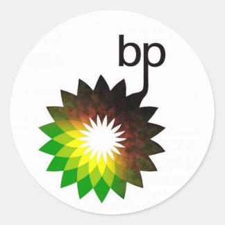 bpのロゴ ラウンドシール