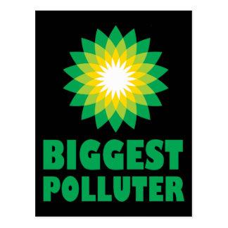 BPの最も大きい汚染者 ポストカード