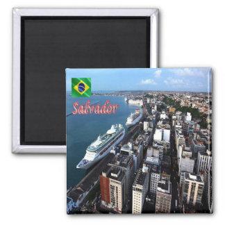 BR -ブラジル-サルバドル-港 マグネット