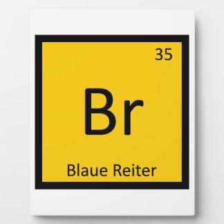 Br - Blaue Reiterの芸術化学周期表 フォトプラーク