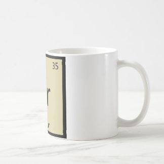Br - Bulgurムギ化学周期表の記号 コーヒーマグカップ