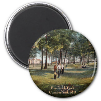 Braddock公園のヴィンテージのカンバーランドの磁石 マグネット