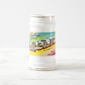 BradentonフロリダFLの古いヴィンテージ旅行記念品 ビールジョッキ