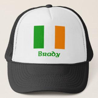 Bradyのアイルランド人の旗 キャップ