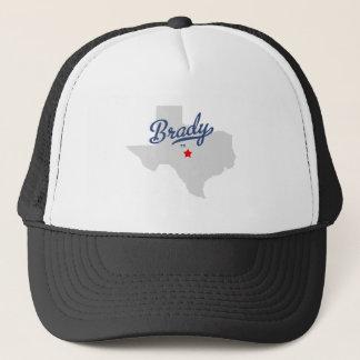 Bradyテキサス州TXのワイシャツ キャップ