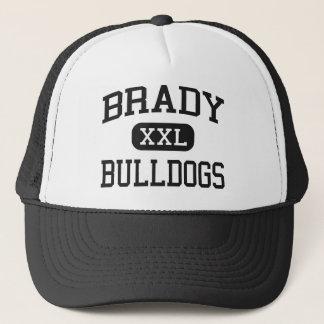 Brady -ブルドッグ- Bradyの高等学校- Bradyテキサス州 キャップ