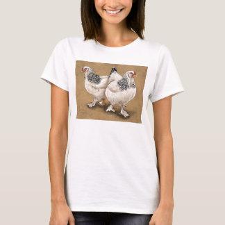 Brahmaの鶏の女性のワイシャツ Tシャツ