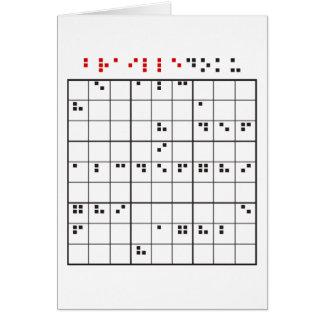 brailledoku カード