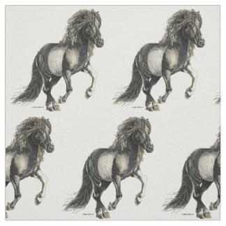 Branaの   アイスランド人の馬 ファブリック