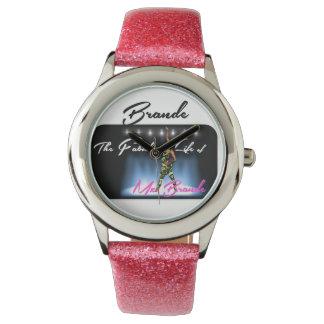BRANDEのピンクレディー腕時計 腕時計