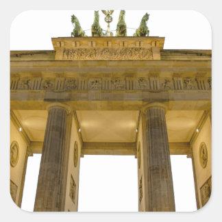 Brandenburgerのゲートドイツ スクエアシール