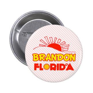 Brandon、フロリダ 5.7cm 丸型バッジ