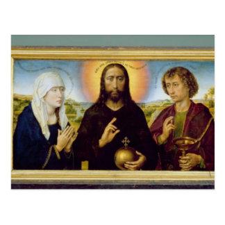 Braque家族のトリプティク、聖ヨハネ ポストカード