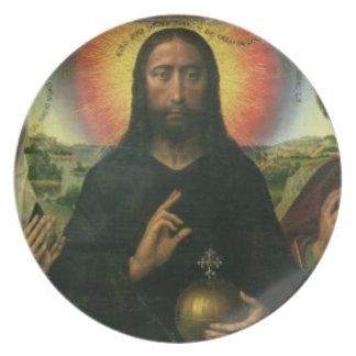 Braque家族のトリプティク: (LtoR)聖ヨハネBa プレート