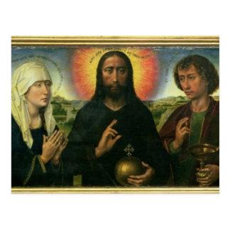 Braque家族のトリプティク: (LtoR)聖ヨハネBa ポストカード