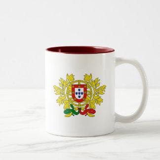 Brasão de armas deポルトガル ツートーンマグカップ