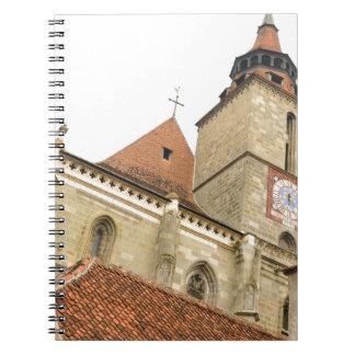 Brasov、ルーマニアの黒人教会 ノートブック