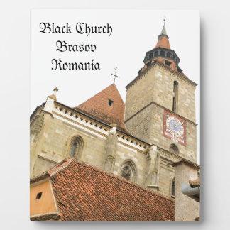 Brasov、ルーマニアの黒人教会 フォトプラーク