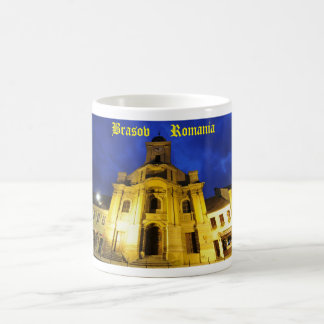 Brasov、ルーマニア コーヒーマグカップ
