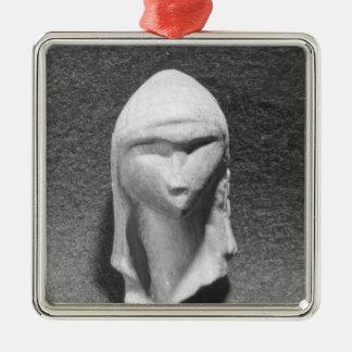 Brassempouyの金星として知られている女性の頭部 メタルオーナメント