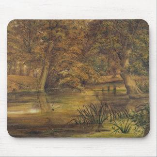 Bratfordの背部水、1864年(w/cおよび鉛筆o マウスパッド