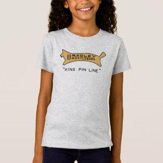 Brattleboroのキングピンラインロゴのワイシャツのブラッドリー Tシャツ