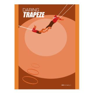 Brattleboroのサーカスの芸術-不思議な車輪 ポストカード