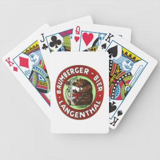 Brauerei Baumberger Langenthal Kartenspiele バイスクルトランプ