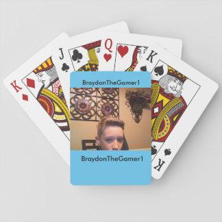 BraydonTheGamer1ターコイズカード トランプ